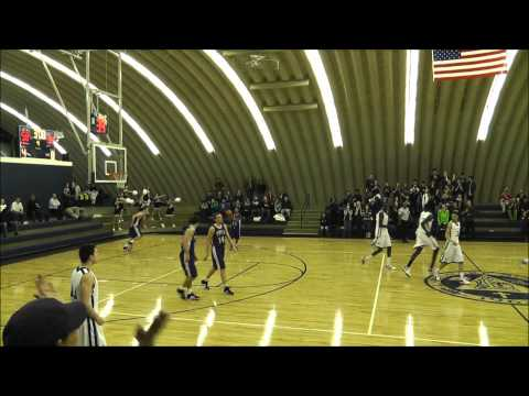Hanner Perea from La Lumiere School - Dunk vs. Traders Point (01/20/2012)