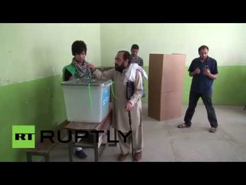 Afghanistan: Poll stations open up for second round of elections