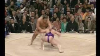 舞の海 対 武蔵丸