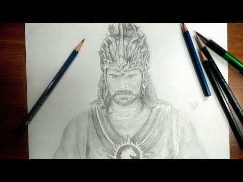 bahubali 2 | speed drawing