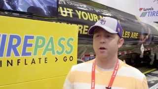 Professional truck driver talks about TirePass from Love's Travel Stops