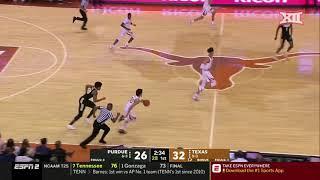 Texas vs. Purdue Men's Basketball Highlights