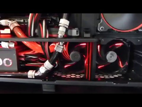 Quad damage RIG : RIVE / i7 3930K / QuadFire 7970 / Fully Watercooled / Corsair 800D Quad Damage Mod