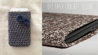 CROCHET EASY iPhone, iPad, and Laptop Sleeve