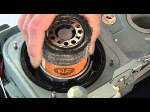 Instruction movie replace wick for Zibro petrol heaters with turning knob