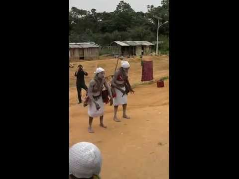 Women's Bwiti Full Initiation Ceremony in Gabon, Africa February 2013