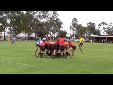Lincoln's Rugby Tackle. (Red Card)