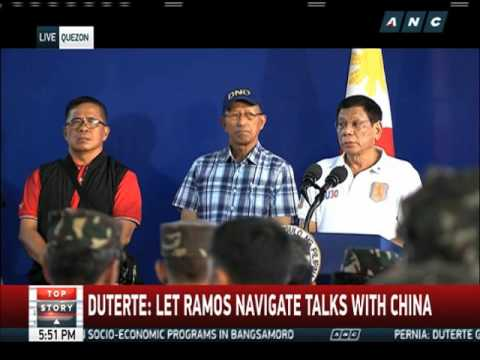 Duterte bares ex-presidents' advice on China dispute