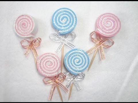 Como hacer distintivos para baby shower de foami - Imagui