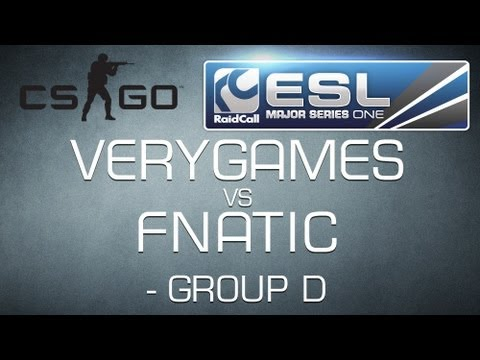 VeryGames vs Fnatic - Group D RaidCall EMS One - Counter-Strike:GO HD