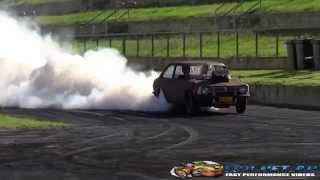ULEGAL SMOKES IN SYDNEY DRAGWAY AT AUSTRALIA DAY WEEKEND BURNOUTS 2015