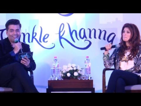 Karan Johar's Rapid Fire Session With Twinkle Khanna At Mrs Funnybones Book Launch