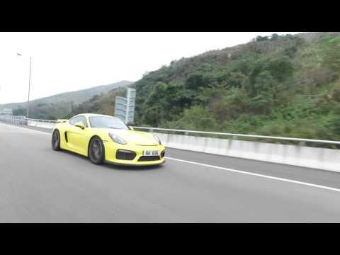 MENCLUB AUTO-一個字頭的誕生-Porsche Cayman GT4
