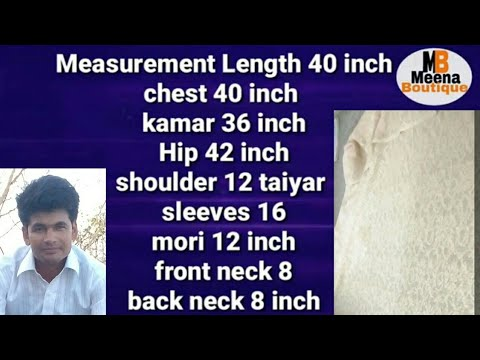 net kurti cutting and stitching in hindi / lining kameez diy step by step