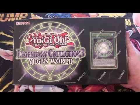 Yugioh Legendary Collection 3 Yugi's World Unboxing
