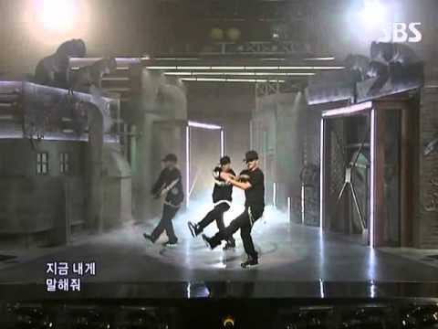 Tae Yang - Where U at (태양 - Where U at) @ SBS Inkigayo 인기가요 091025