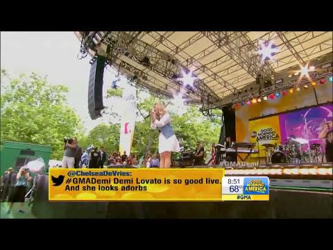[HD] Demi Lovato Heart Attack, Made In The USA & Give Your Heart A Break Live GMA 6/28/13