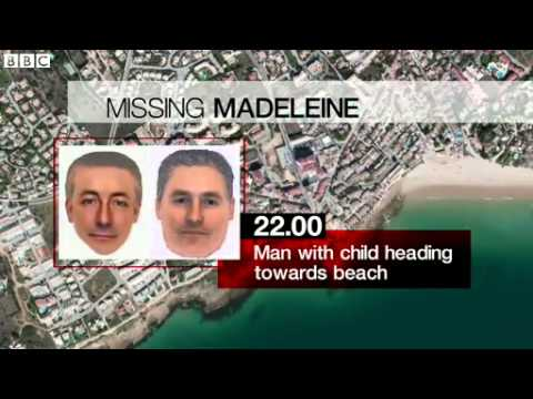 Madeleine McCann  E fits of man released by police