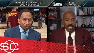 Cavaliers fan Steve Harvey to Stephen A.: