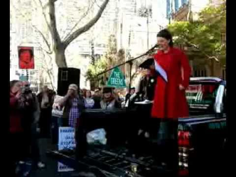 Sydney Rally for Julian Assange & WikiLeaks 15 July 2012