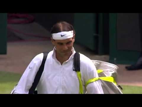 Rafa Nadal gets Centre Court rocking - Wimbledon 2014