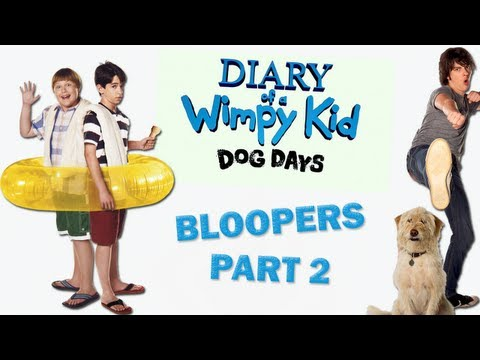 Diary of a Wimpy Kid: Dog Days - Bloopers PART 2/2