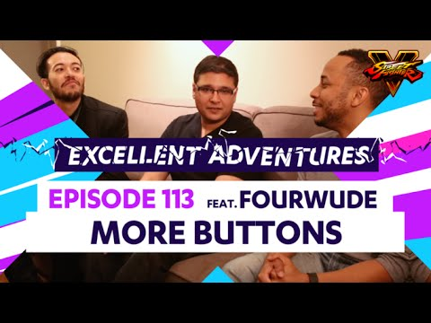 MORE BUTTONS ft. FOURWUDE! The Excellent Adventures of Gootecks & Mike Ross Ep. 113 (SFV)