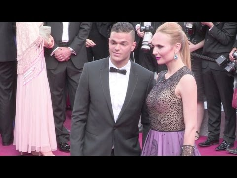 Nice Football player Hatem Ben Arfa attends the Premiere of Loving at the Cannes Film Festival 2016