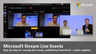 Introducing Live Events in Microsoft Stream