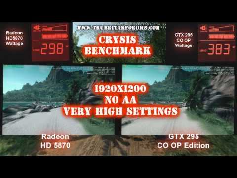 (HD) Radeon HD 5870 - Crysis Benchmark