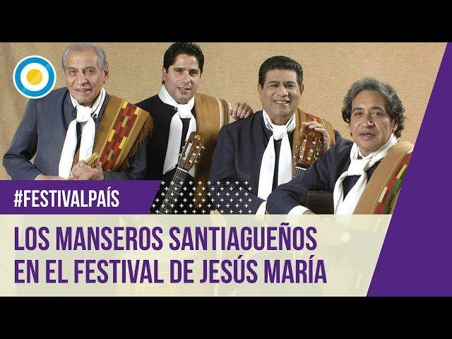 Festival Jesús María - Novena noche - Manseros santiagueños - 12-01-13
