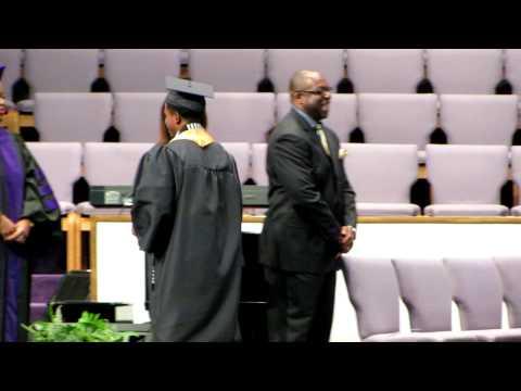 Ernest Calhoun III - Buchtel High School - 2012 Graduation