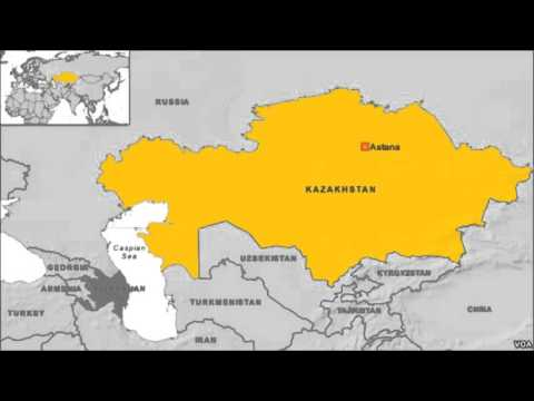 Police in Kazakhstan Shut Down News Conference