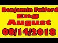 Vlog, Benjamin Fulford: ( Eng ) August 14 - 2018
