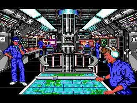 688 Attack Sub (DOS) - Game Play