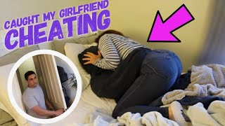 CHEATING PRANK ON BOYFRIEND! (In bed with another man) *he was mad*