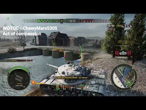 WOTQC - ChewyMars5305 - World of Tanks Xbox - Avoid your brother drowning himself by executing him