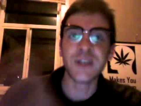 Weed Makes Me Schizophrenic! But Only for a Second - Marijuana Paranoia Video Diary #18