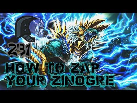 ┌MH4U┘ G2★ - How to Zap Your Zinogre    Solo - 2'31 [Greatsword]
