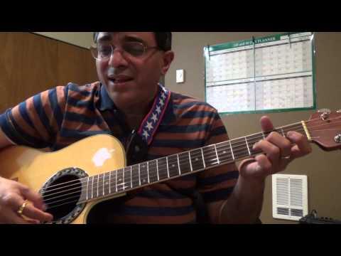 Awarapan banjarapan (KK) guitar chord lesson by Suresh