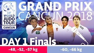 Judo Grand-Prix Cancun 2018: Day 1 - Final Block