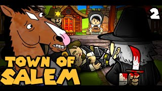 DONT HANG THE HORSE! (The Derp Crew: Town of Salem - Part 2)