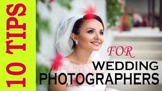 Ten tips for wedding photography for beginner