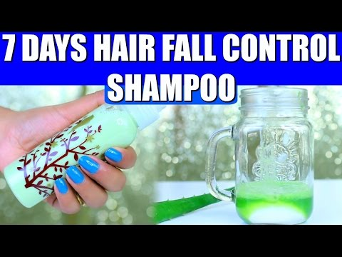 Hair Fall Control Natural Shampoo Results in 7 days   SuperPrincessjo