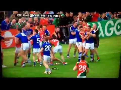 Mayo v Kerry Semi Final fan