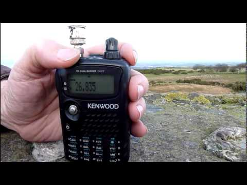 CB And Amateur Radio:USA & Ukraine Heard From Carrick Hills, Ayr, Ayrshire, Scotland (12nov2010)