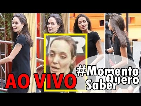ANGELINA JOLIE estaria morrendo? Fonte nega internação da atriz | E muito mais! #MomentoQueroSaber