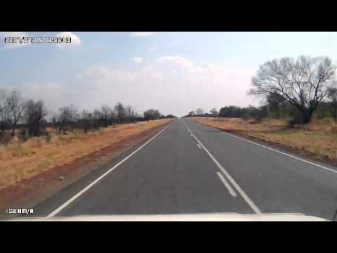 Video 274-Stuart Highway - Wilora to Ti-Tree