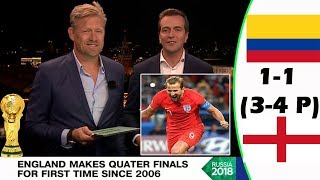 COLOMBIA VS ENGLAND 1-1 (3-4 PENS) [POST MATCH ANALYSIS] WITH PETER SCHMEICHEL!