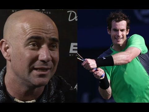 Andre Agassi: 'Andy Murray thrives under pressure'